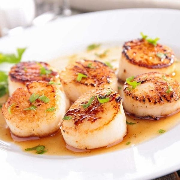 Scallops, Fish and More